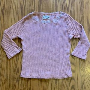 Urban Outfitters pink shirt